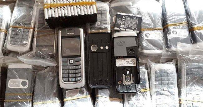 1465 adet kaçak cep telefonu ele geçirildi
