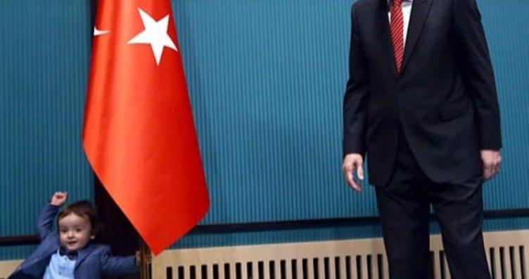 Renkli anlarıyla Cumhurbaşkanı Erdoğan...