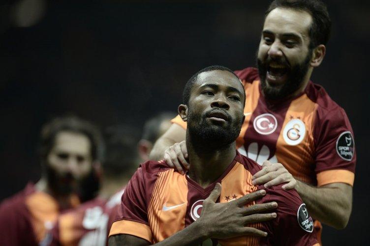 Galatasaray-K.Erciyesspor maçından kareler