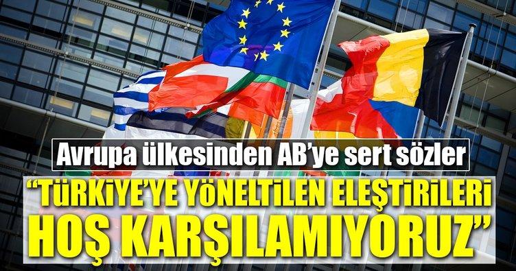 Macaristan'dan AB'ye sert sözler