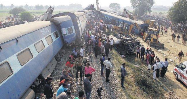 Tren faciası: 112 ölü