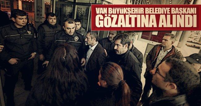 Van Büyükşehir Belediyesi'ne operasyon