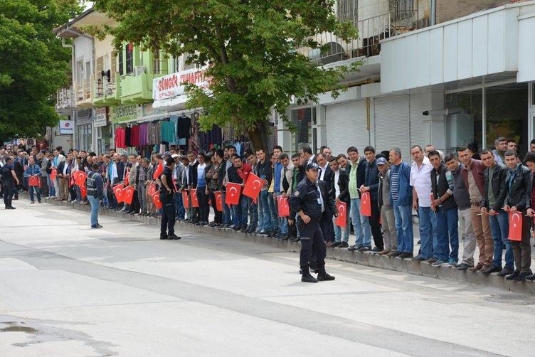 Cumhurbaşkanı'na Kırşehir'de sevgi seli
