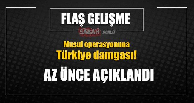 Türk askerlerinin eğittiği Ninova Muhafızları Musul'da