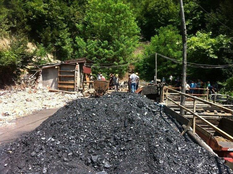 Zonguldak'ta maden ocağında göçük