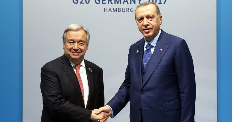 Cumhurbaşkanı Erdoğan'dan Almanya'da yoğun temaslar!