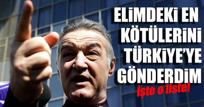 Romen menajerden Türkiye için şok sözler!