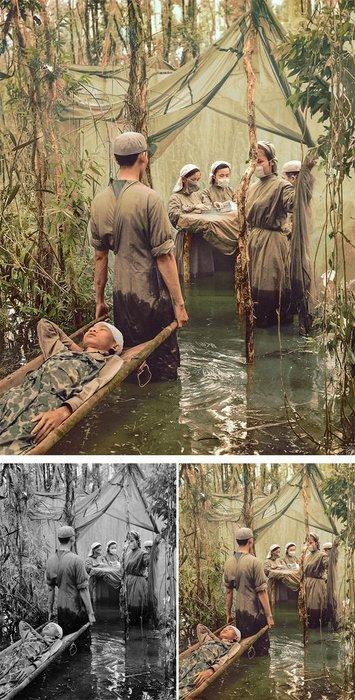 Tarihi fotoğraflar renklendi