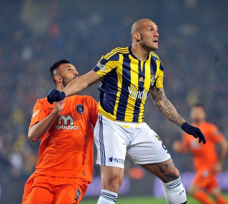 Fenerbahçe-Medipol Başakşehir maçından kareler