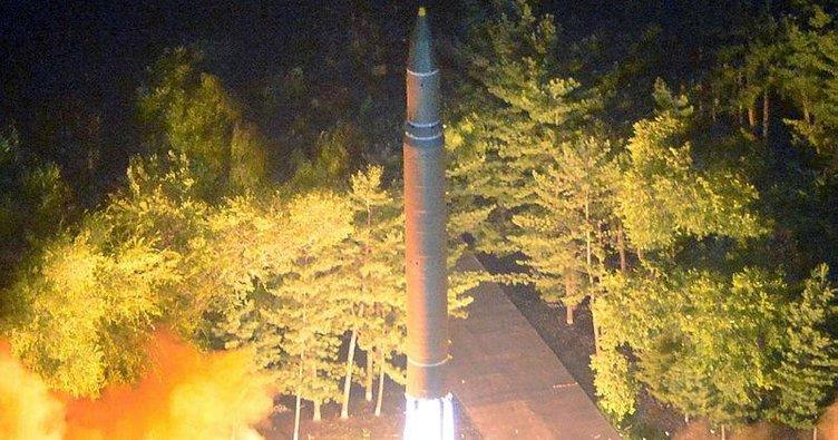 Son dakika: Kuzey Kore füze fırlattı... Füze Japonya'nın üstünden geçti