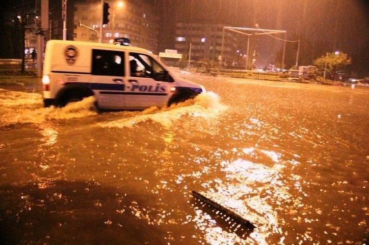 Edremit sular altında