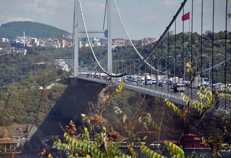 İstanbul trafiğini kilitleyen eylem