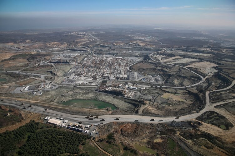 3. Havalimanı inşaatında 12 bin kişi çalışıyor