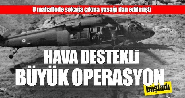 Diyarbakır'da büyük operasyon başladı