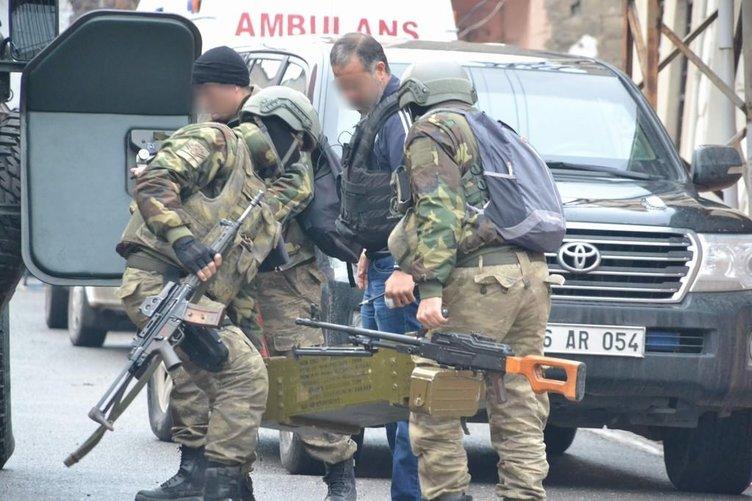 Siirt'te polis ile PKK arasında çatışma!