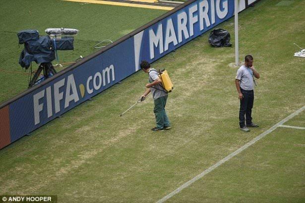 Dünya Kupası'nda stat skandalı