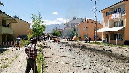 Tunceli Ovacık'ta patlama