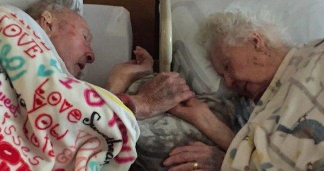 77 yıllık çiftin son karesi herkesi ağlattı...