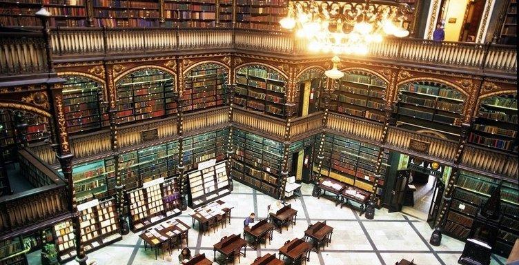 Batı dünyasının en güzel kütüphaneleri