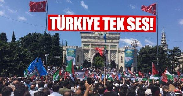 Türkiye Mescid-i Aksa için ayakta!