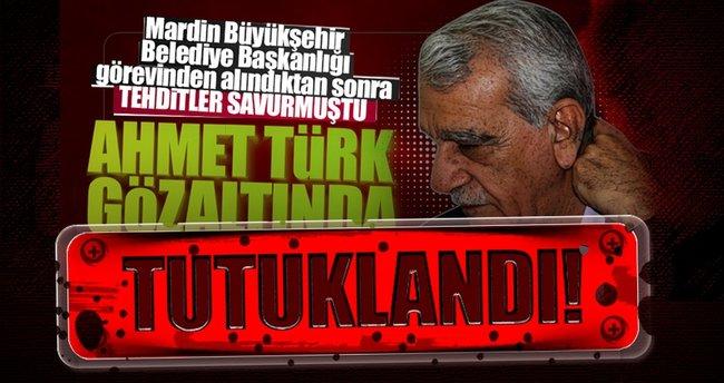 Ahmet Türk tutuklandı
