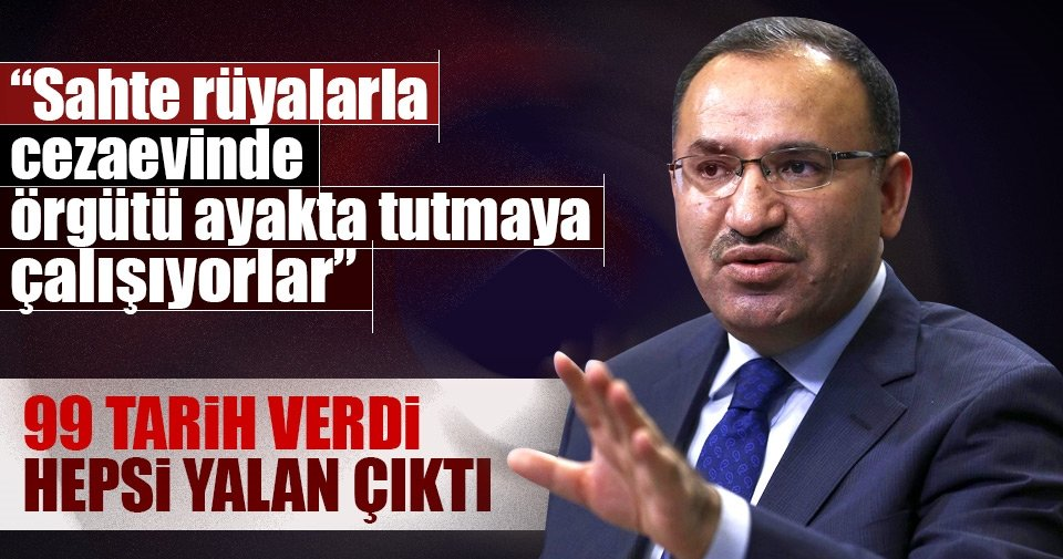 Adalet Bakanı Bekir Bozdağ'dan önemli açıklamalar