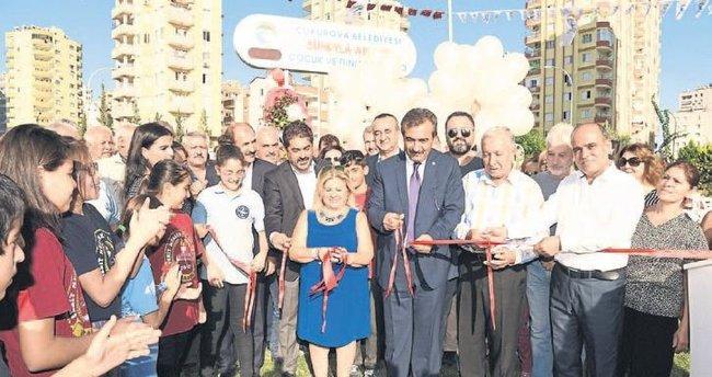 Çukurova Belediyesi açılış hamlesi yaptı