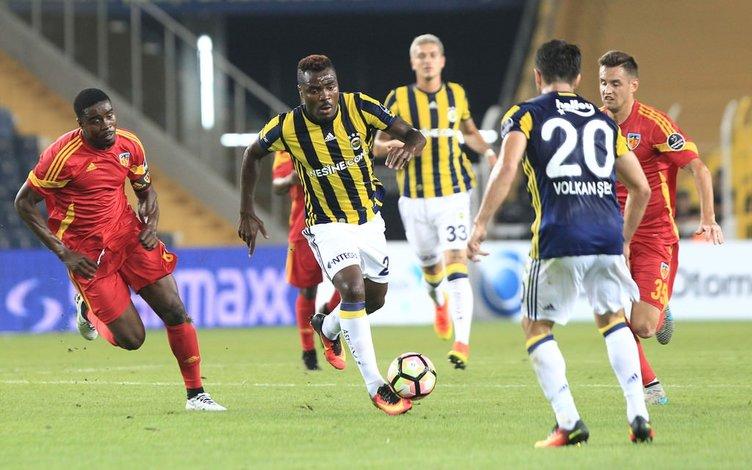 Fenerbahçe Kayserispor maçından kareler