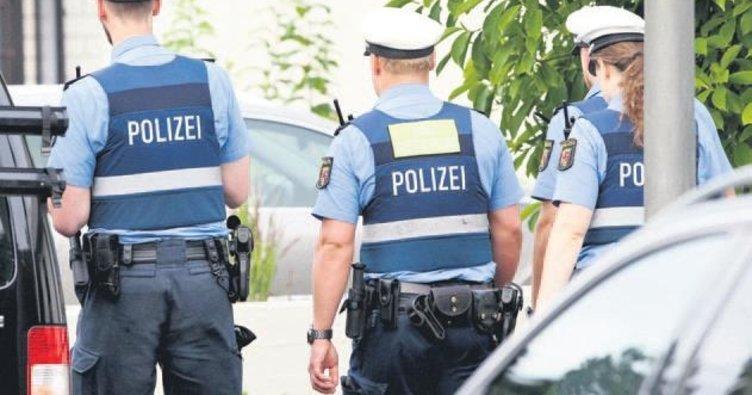 Almanya'da 36 eve sosyal medya baskını