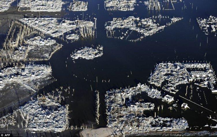 Sular altında kalan şehir
