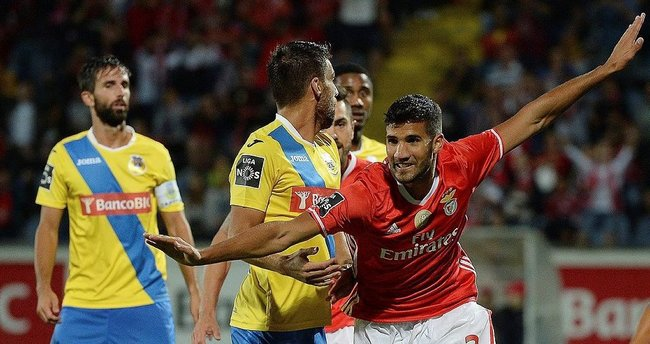 Benfica deplasmanda galip geldi