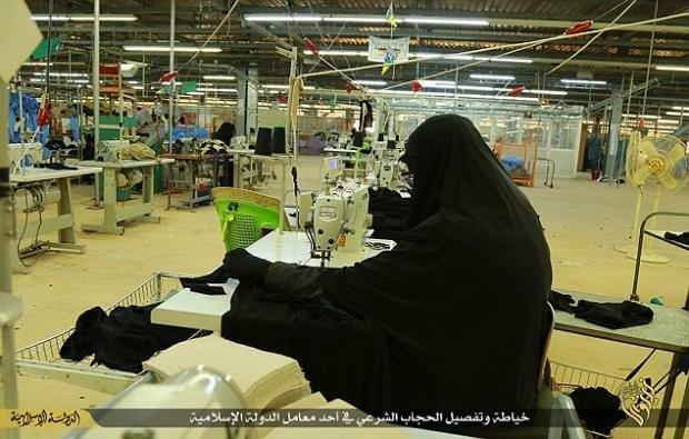 IŞİD fabrika açtı