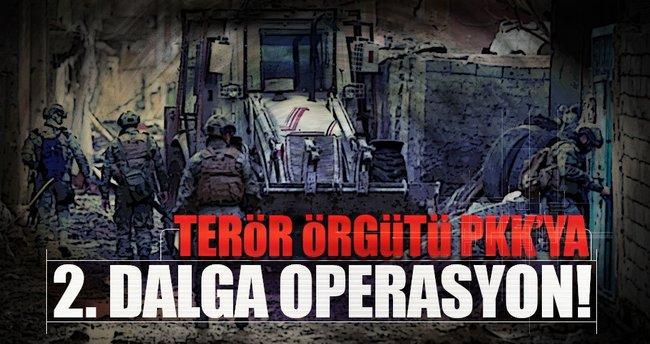 Terör örgütü PKK'ya 2. dalga operasyon