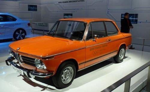 BMW elektriği 43 yıl önce almış