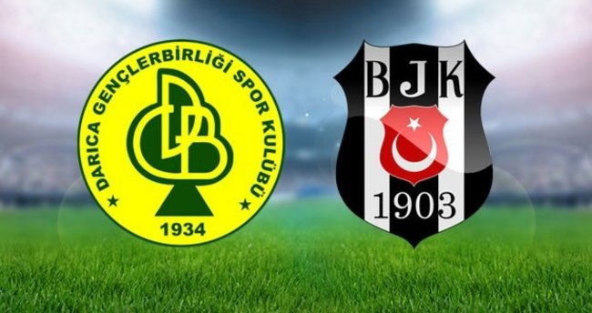 Darıca Gençlerbirliği Beşiktaş maçı hangi kanalda? Canlı izle