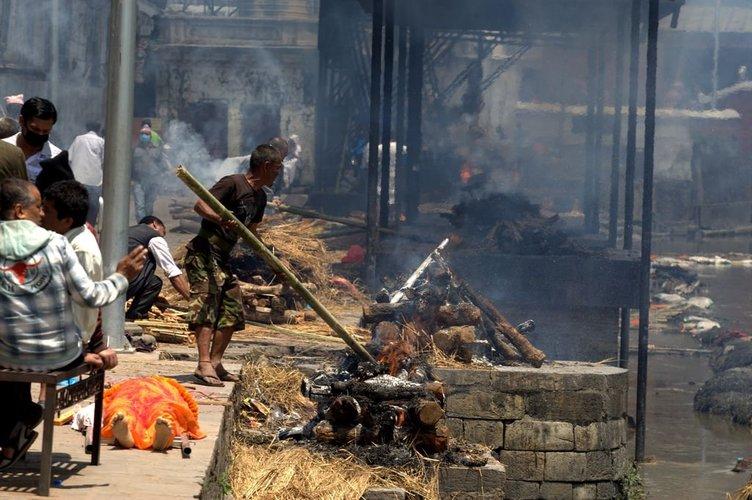 Nepal'deki acı tablo SABAH objektifinde