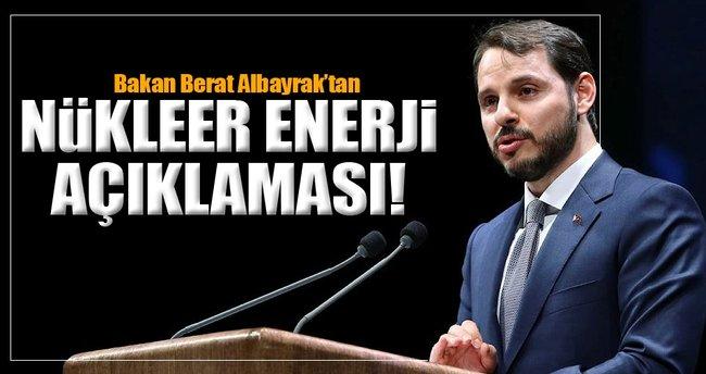 Bakan Albayrak'tan flaş Nükleer enerji açıklaması!