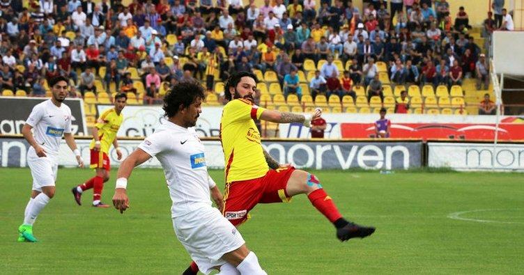 Evkur Yeni Malatyaspor Boluspor ile berabere kaldı Süper Lig'e çıktı