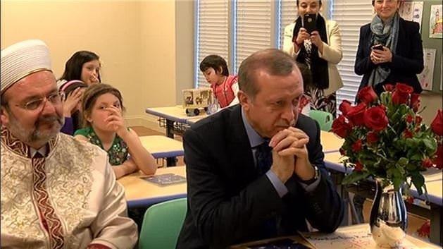 Cumhurbaşkanı Erdoğan gözyaşlarını tutamadı