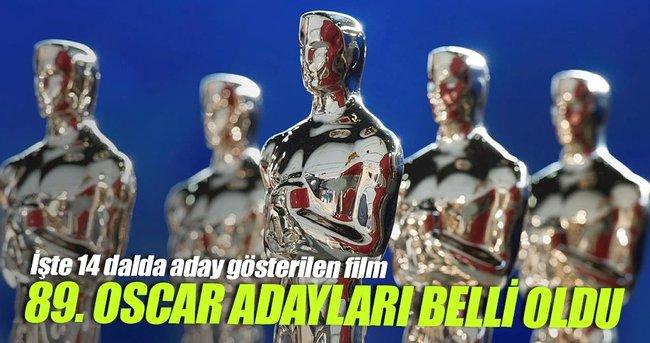 OSCAR ADAYLARI BELLİ OLDU