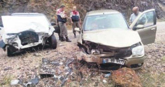 İki ayrı kazada 10 kişi yaralandı