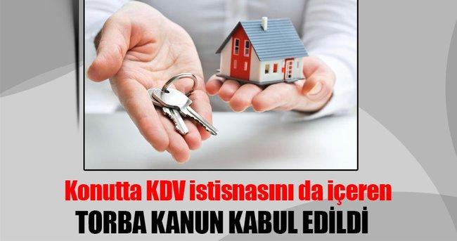 TORBA KANUN TEKLİFİ KABUL EDİLDİ