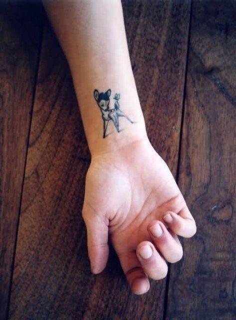 Animasyon sevenlere özel dövmeler