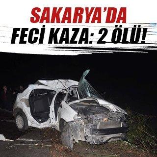 Sakarya'da trafik kazası: 2 ölü