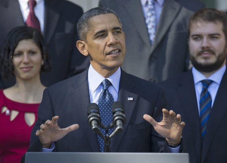 Obama çok konuşunca fenalık geçirdi