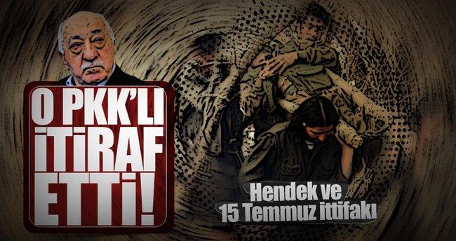 Şok eden itiraf: PKK'dan 15 Temmuz desteği, FETÖ'den özerklik sözü