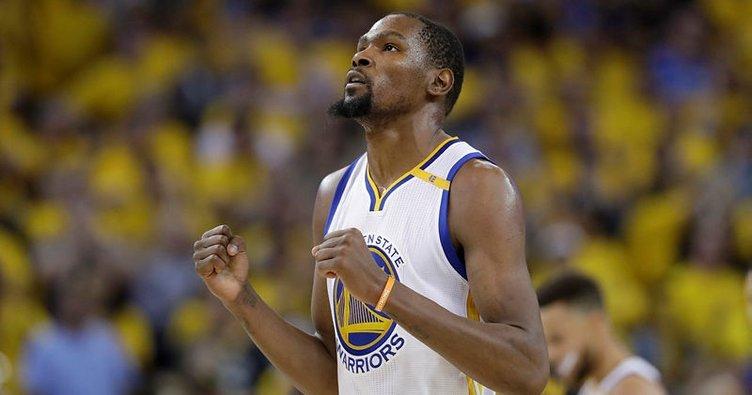 Warriors'tan Durant'e 2 yıllık sözleşme