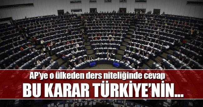 Kırgızıstan'dan AP'ye sert karar
