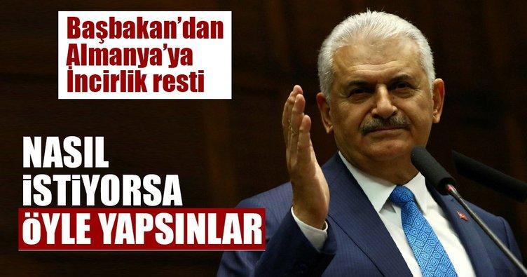 Almanya'nın çekilme kararına Türkiye'den rest!