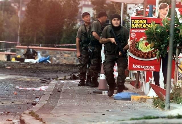 Sultanbeyli'deki saldırıdan kareler